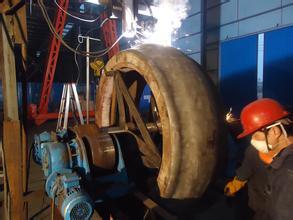烧结机篦板耐磨堆焊修复药芯焊丝